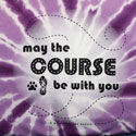 May the Course Be With You (Paw and Shoe)